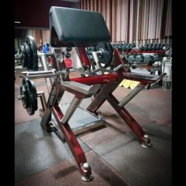 Banca Biceps din picioare – Gama Profesionala – Platforma inox