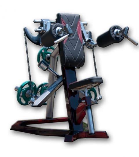 aparat deltoid free weight